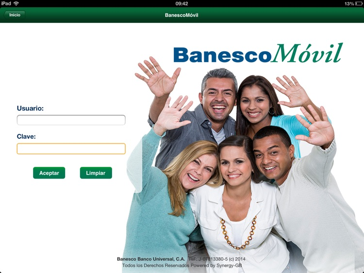 Banesco Móvil for iPad