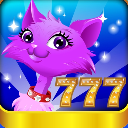 Kitty Cat Slots™ – FREE Premium Casino Slot Machine Game application logo