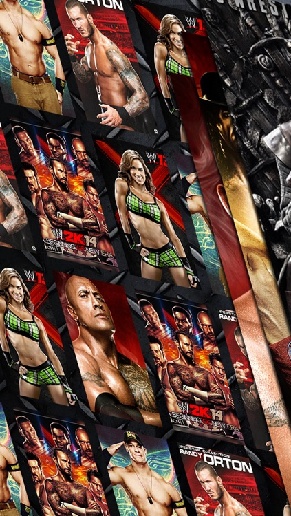 Wallpapers for WWE 2k14 & set lock screen screenshot-0
