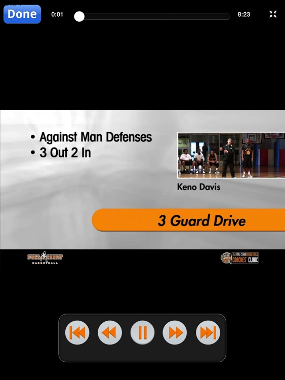 Aggressive Offensive Sets: A Playbook For A High Scoring Offense - With Coach Keno Davis - Full Court Basketball Training Instruction - XL screenshot-3