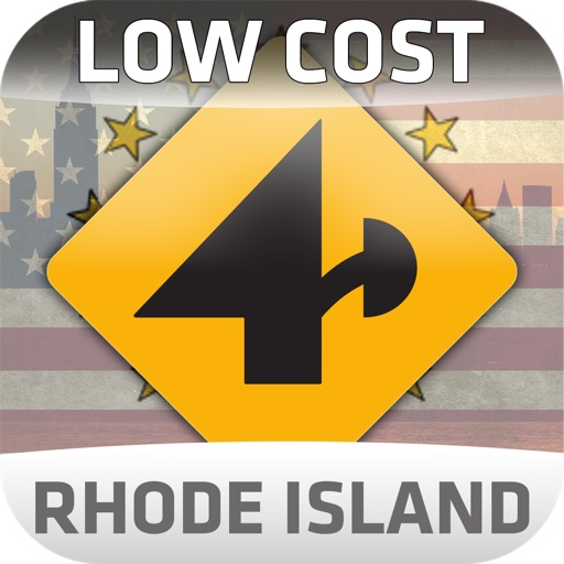 Nav4D Rhode Island @ LOW COST icon