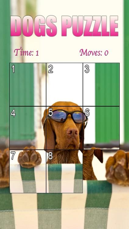 Dogs Puzzle HD screenshot-4