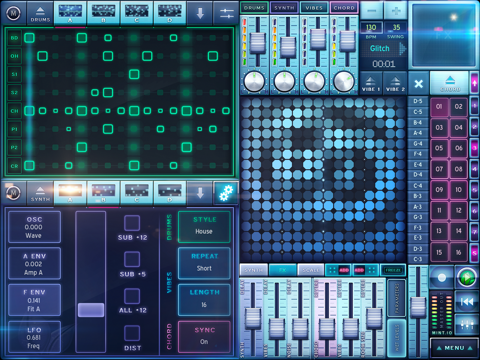 MINT.io Groovebox Synth
