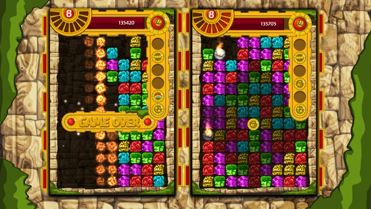 Antique Mayan Blocks - Collapse, Earn, Mash, Trap and Splash Jewel Pieces screenshot-0