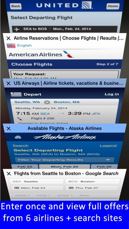 Boston Logan Airport - Flight Tracker Premium App 截图