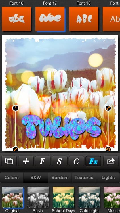 Textmatic - Text on photo and photo effects for Instagram screenshot-4