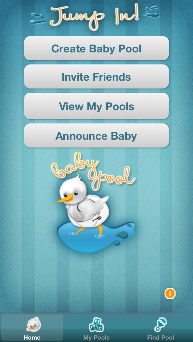 Screenshot for Baby Pool - The Pregnancy Guessing Game in United States App Store