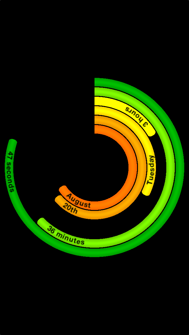 Polar Clock: Art of Time screenshot two