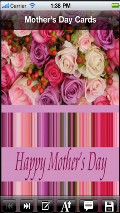 Mother's day card. Customize and send mother's day greeting cards! screenshot-3