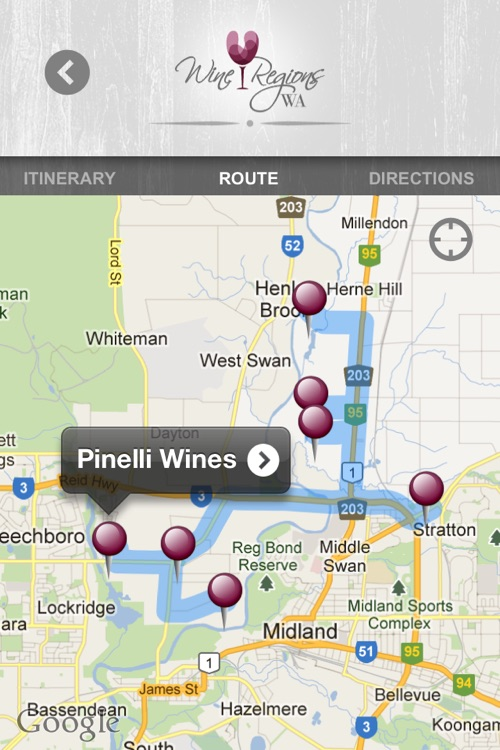 Wine Regions WA screenshot-0