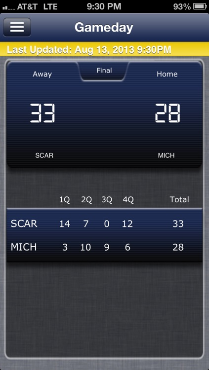 Michigan Football Live screenshot-4