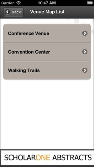 ScholarOne My Itinerary on the App Store