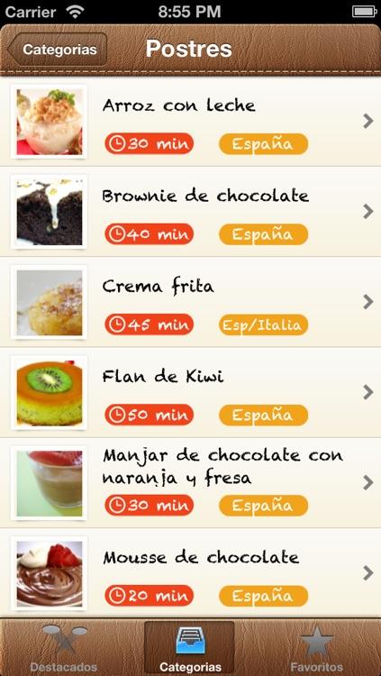 Recetas Cocina screenshot-3