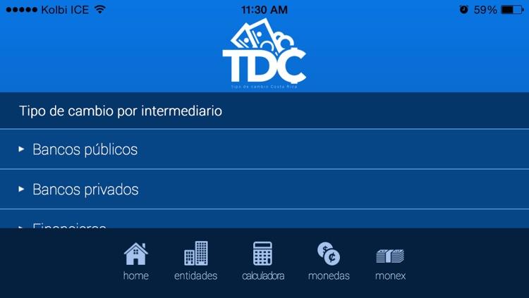 TDC Tipo de Cambio CR Pro screenshot-4