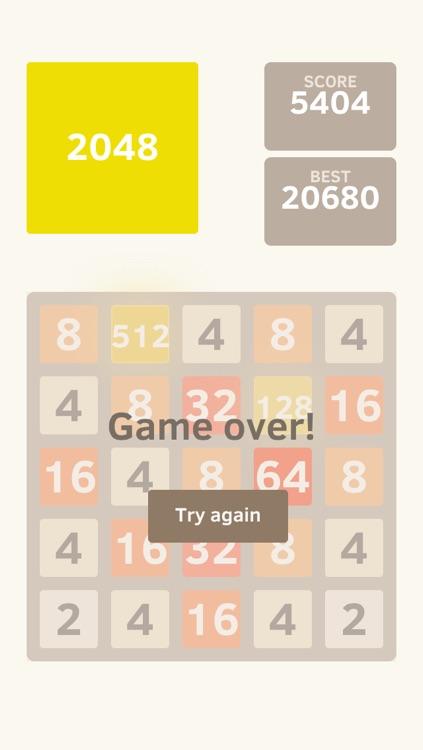 2048 5x5 Classic Edition screenshot-4