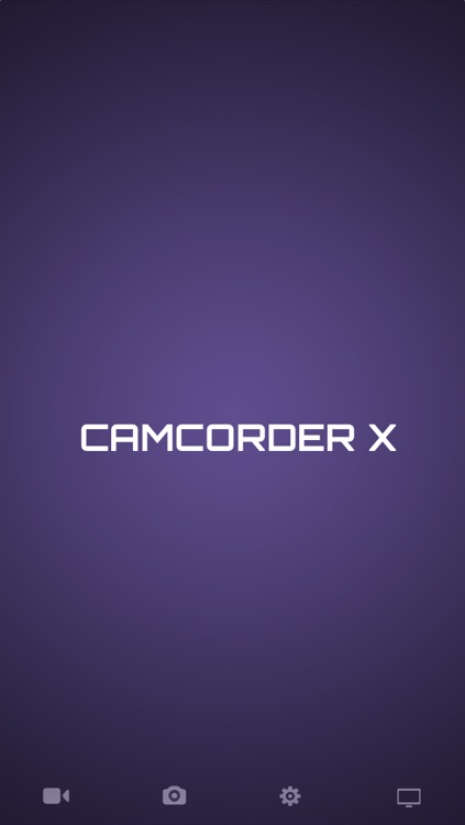 Camcorder X - Professional Video Camera with Manual Focus. Take pictures while filming