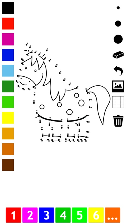 Connect the dots coloring book for children: Learn painting by numbers for kindergarten and pre-school with this learning puzzle game