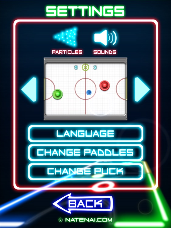 Glow Hockey 2 HD FREE