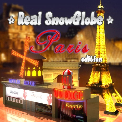 Real SnowGlobe Paris