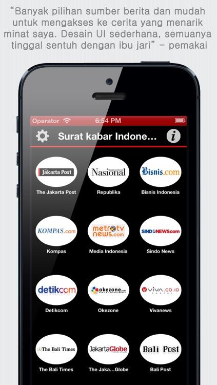 Surat kabar Indonesia - Koran Indonesia - Indonesia News - Indonesian Newspapers screenshot-4