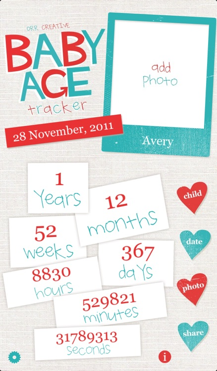 Baby Age Tracker screenshot-0