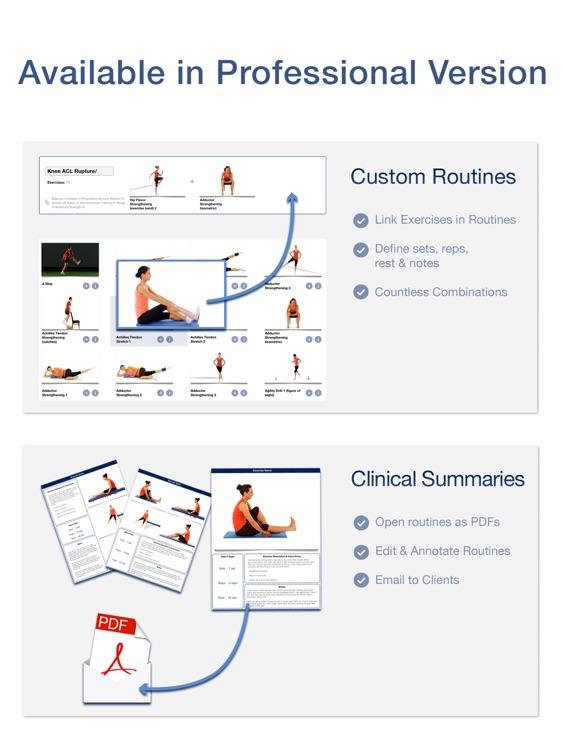 Rehabilitation for Lower Limbs screenshot-4