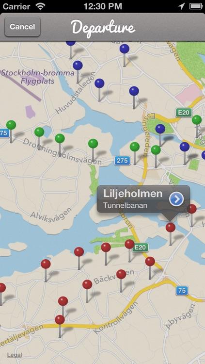 Uppgångar Stockholm