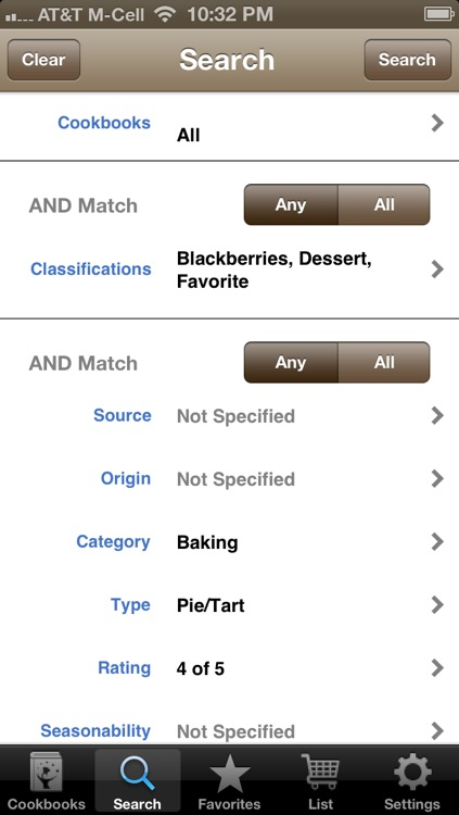 TheRecipeMgr screenshot-2