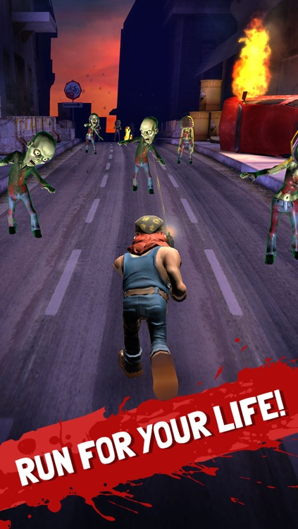 Running Zombie War: Killing Dead - by Fun Games For Free screenshot-1
