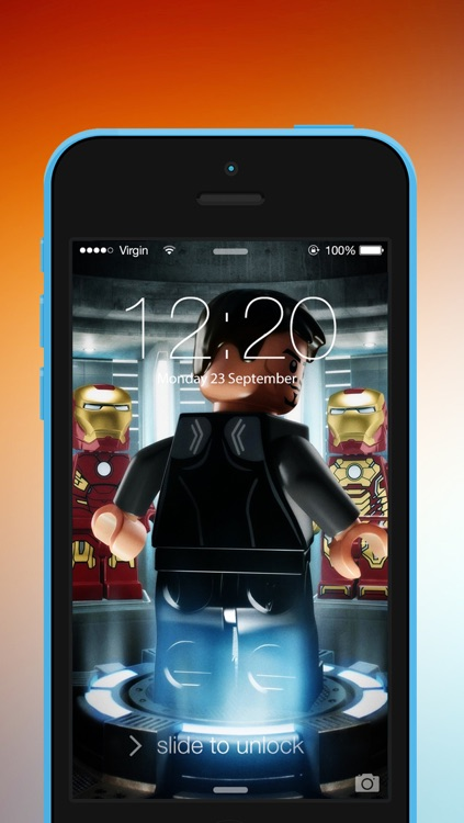 HD Wallpapers for Lego : Ratina Background & Lock Screen for all iOS Device screenshot-3
