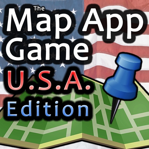 The Map App Game - USA Edition