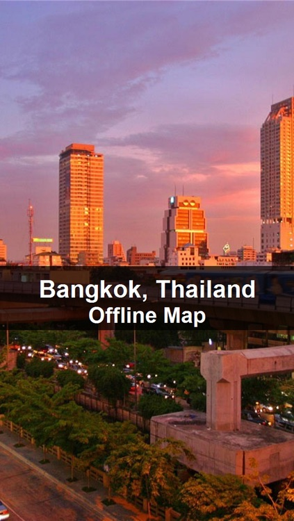 Offline Bangkok, Thailand Map - World Offline Maps