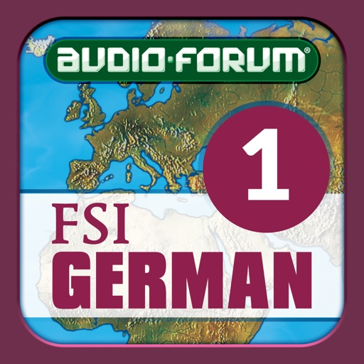 German Basic Course Vol. 1 (Level 1) - by Audio-Forum / Foreign Service Institute
