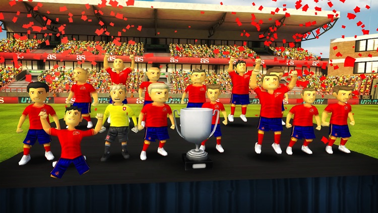Striker Soccer Euro 2012 Lite: dominate Europe with your team screenshot-4