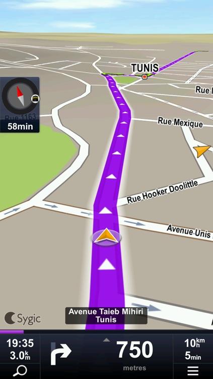 Sygic Algeria & Tunisia: GPS Navigation
