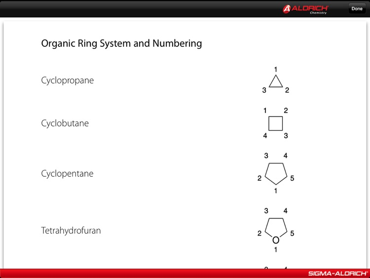 The Aldrich Handbook of Fine Chemicals for iPad screenshot-3
