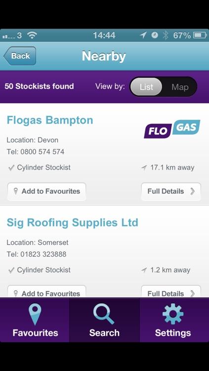 Gas Finder App >> Flogas Gas Finder By Evosite Ltd