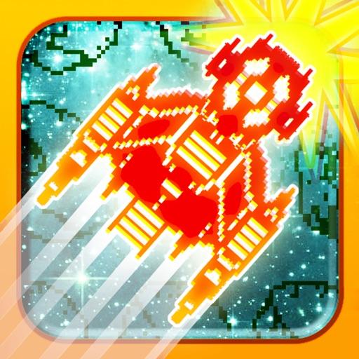 Бесплатные игры гонки космических (Asteroid Race - 8-bit Space Warrior Racing Game Free)