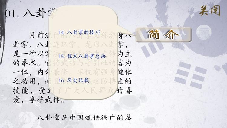 八卦掌 - 武术名家讲解示范 screenshot-4
