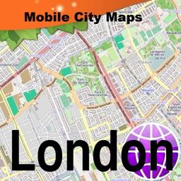 London Street Map.