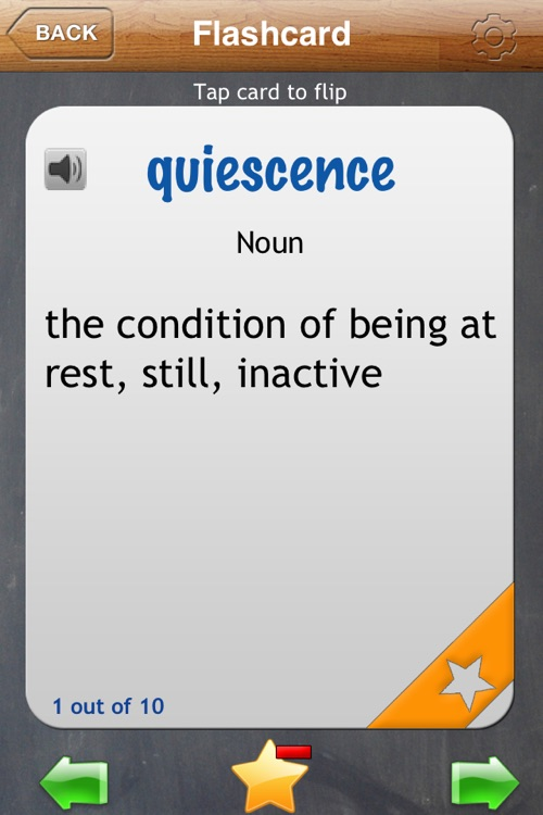GRE Flash Cards App screenshot-3