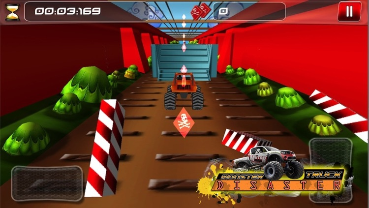 Monster Truck Disaster ( 3D Car Racing Games ) screenshot-4