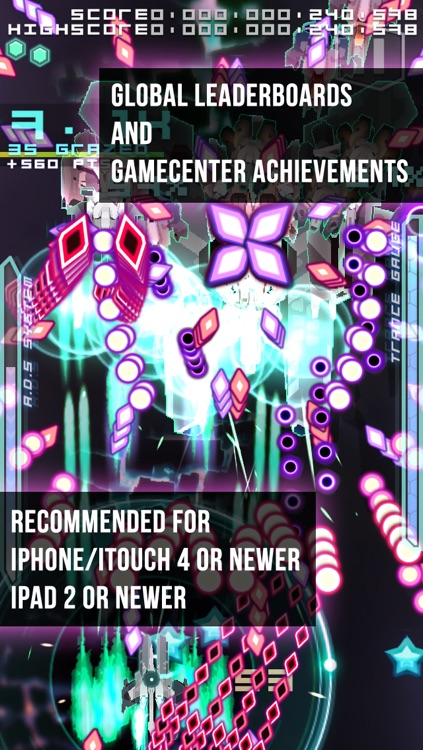 Danmaku Unlimited 2 lite - Bullet Hell Shump screenshot-4