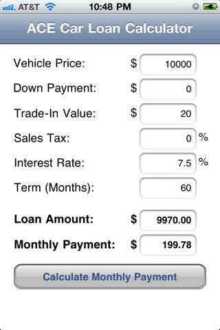 Car loan calculator | car loan payment & payoff calculator with.