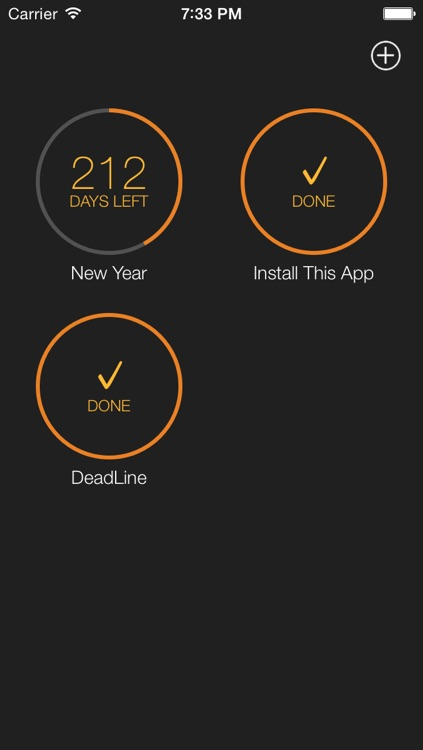 Time Left  - Quickly create one-time reminders on your iPhone, iPad or iPod Touch. HD