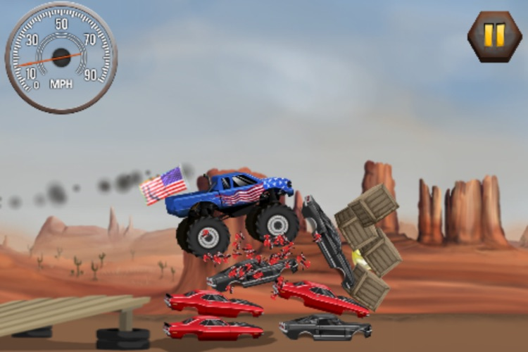 Stunt Car Challenge screenshot-3