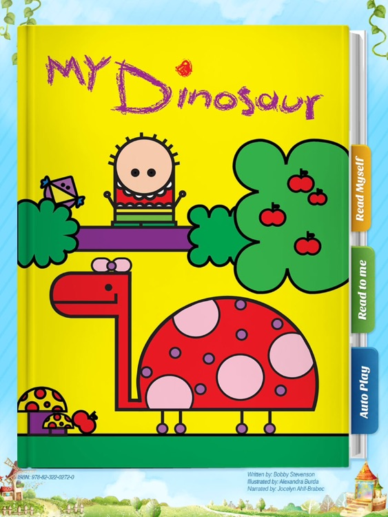 My Dinosaur - Have fun with Pickatale while learning how to read! screenshot-0