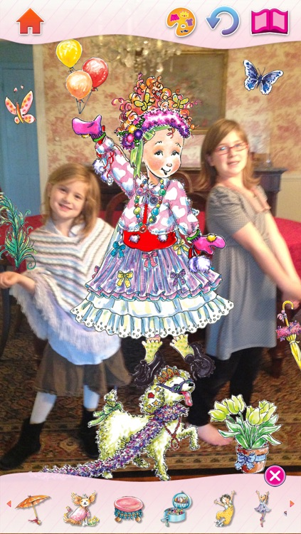 Fancy Nancy Dress Up screenshot-3