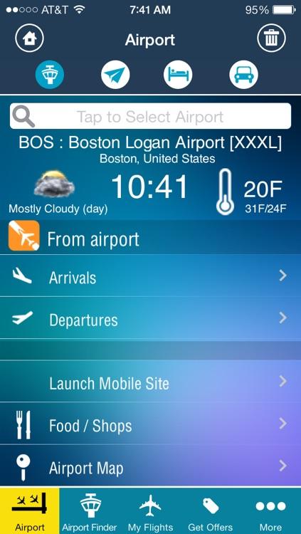 Boston Logan Airport - Flight Tracker Premium