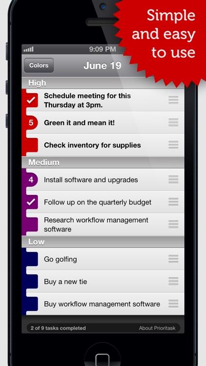 Prioritask screenshot-3
